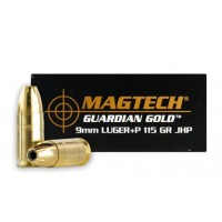 Magtech Guardian Gold 9mm 115GR JHP 20RNDS
