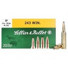 Sellier & Bellot .243 100GR Per 20