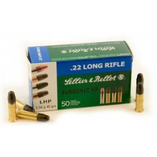 Sellier & Bellot .22LR Subsonic 50RNDS