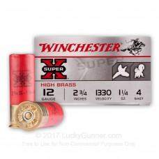 WINCHESTER SUPER X 12G BIRD SHOT